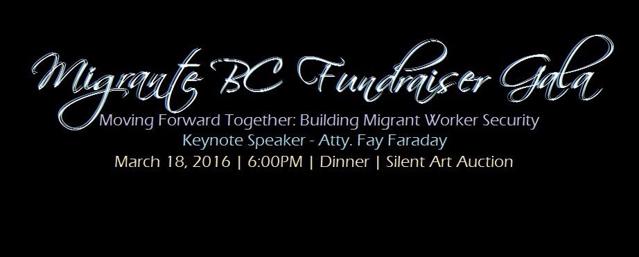 Migrante BC Gala Fundraiser
